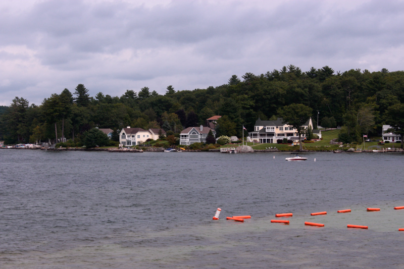 Houses on the lake