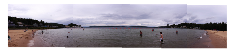 Weirs Beach Panorama
